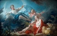 Франсуа Буше(1703-1770).Картина Селена и Эндимион