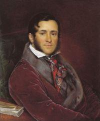 Портрет С. Н. Мосолова Василия Андреевича Тропинина