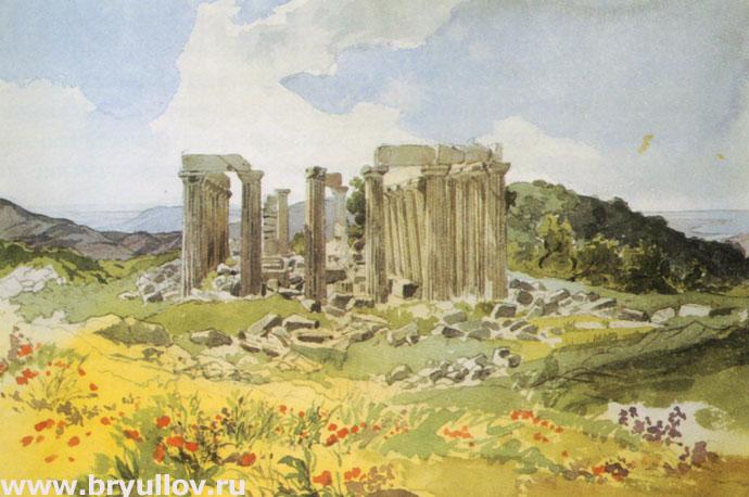 Храм Аполлона Эпикурейского в Фигалии.