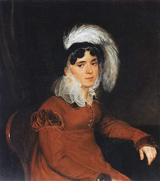 Портрет Кикиной Марии Ардалионовны.