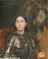 Портрет Джульетты Титтони. 1851-1852