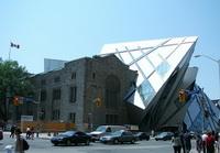 Современное крыло королевской галереи Онтарио в Торонто (Д. Либескинд)
